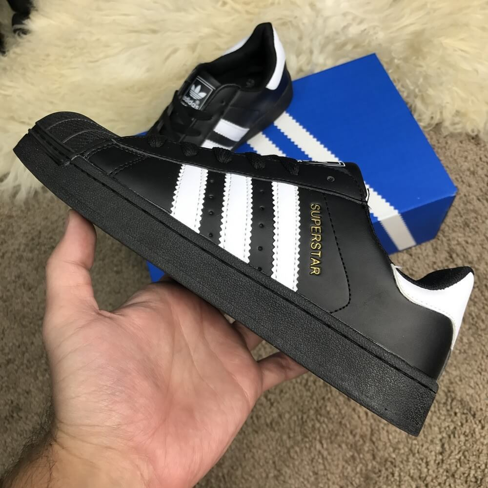 Кроссовки Adidas Superstar Core Black купить по цене 815 грн в ... 861edeb9c79d1