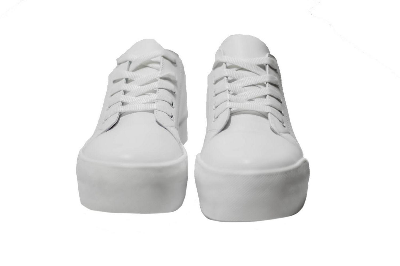 eaa7b561a Слипоны женские Discount Shoes Grup Белая подошва, белый верх купить ...