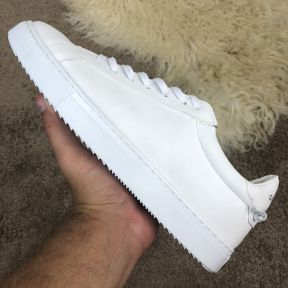Givenchy Low Sneakers In Blocking Mat White