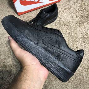 Nike Air Force 1 Calfskin Black