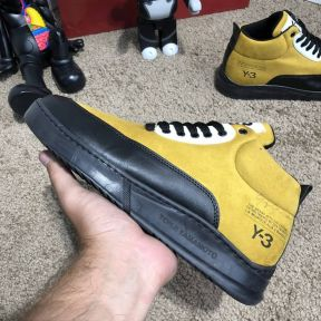 Adidas Y-3 Bashyo II Sneakers Yellow/Black