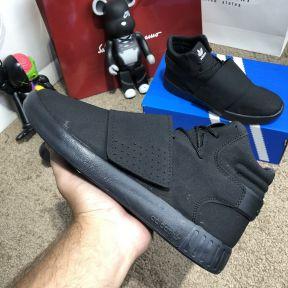 Adidas Tubular Invader Vapour Total Black