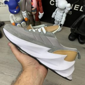 Adidas Sharks Brown Grey White