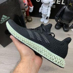 Adidas Futurecraft 4D Core Black/Ash Green