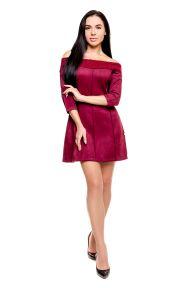 Платье Poliit 8546 цвет пудровый