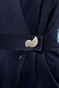 Брошь Jadone Fashion Grey