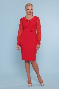 Платье Нелли-Б д/р красный Glem p47697