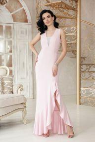 Платье Этель к/р пудра Glem p48315