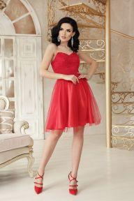 Платье Эмма б/р красный Glem p48224