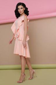 Платье Шейла б/р персик Glem p48531