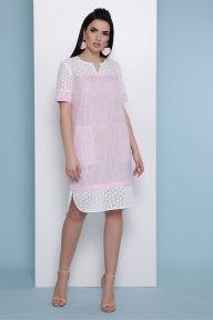 Платье Сати к/р розовый Glem p48404