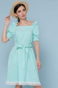 Платье Бланка к/р мята Glem p49240