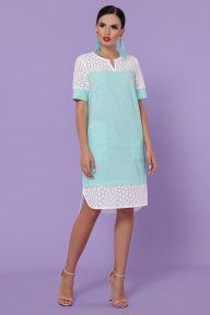 Платье Сати-3 к/р мята Glem p49831