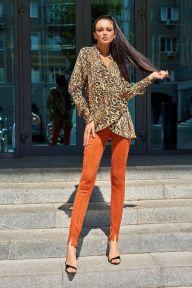 Брюки Jadone Fashion Карри