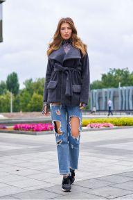 Укороченное пальто Jadone Fashion Доминика