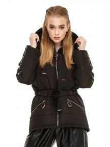 Женская демисезонная куртка Черный KARIANT Залина