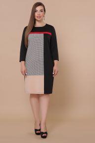 Платье Ассоль-Б д/р черный Glem p50907