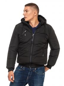 Мужская зимняя куртка Черный KARIANT Лев