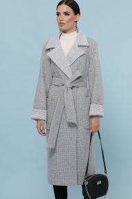 Пальто П-347-110 15-св.серый Glem p51470