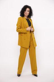 Женские широкие брюки Брива TessDress цвет горчица
