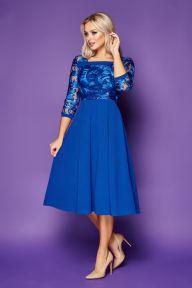 Платье Тифани д/р электрик Glem p52205