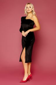 Платье Саманта д/р черный Glem p52323