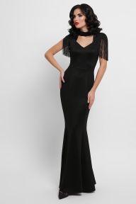 Платье Альфия б/р черный Glem p53201