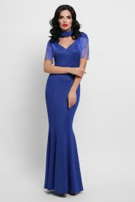 Платье Альфия б/р электрик Glem p53203