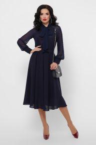 Платье Аля д/р синий Glem p53300