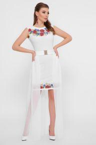 Маки Амая платье б/р белый Glem p55367