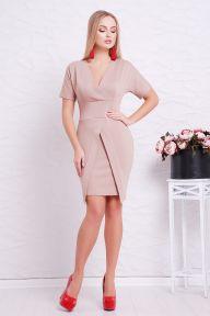 Платье Аурика к/р капучино Glem p38705