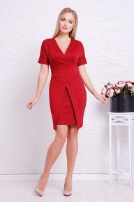 Платье Аурика к/р бордовый Glem p38704