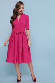 Платье Ангелина к/р фуксия Glem p46610