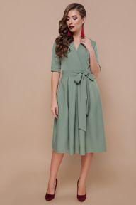 Платье Ангелина к/р св.хаки Glem p46609