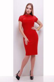 Платье Алесандра к/р красный Glem p35030