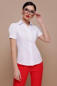 Блуза Эльза к/р белый Glem p46633