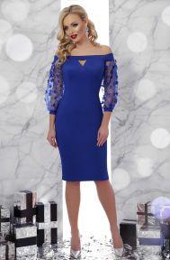Платье Розана д/р электрик Glem p45885