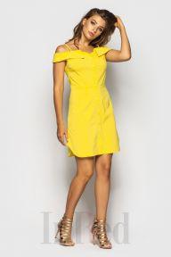 Платье JLо желтое InRed 7524