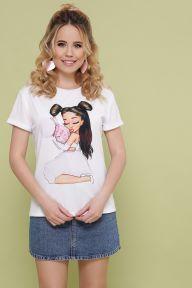 Ариадна футболка Boy-2 белый Glem p48947