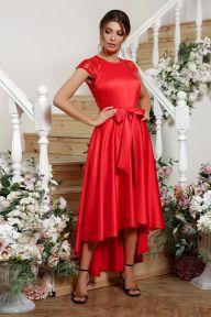 Платье Нинель к/р красный Glem p56243
