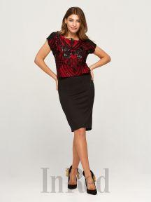 Платье VANESSA красное InRed 7604