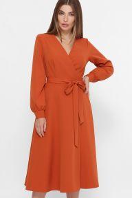 Платье Дарена д/р терракот Glem p61425