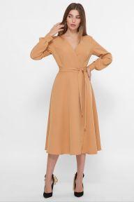 Платье Дарена д/р песочный Glem p61426