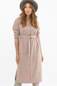 Платье Беата д/р персик Glem p62516