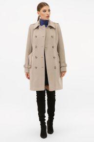 Пальто П-414-90 047-св.серый Glem p63445