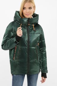 Куртка 8100 03-изумруд-оранжевый Glem p63312