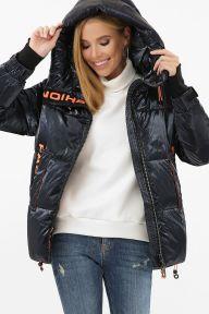 Куртка 8100 02-т.синий-оранжевый Glem p63311