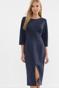Платье Констанция 3/4 синий Glem p63509