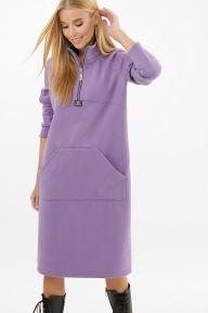 Платье Айсин д/р сиреневый Glem p63088