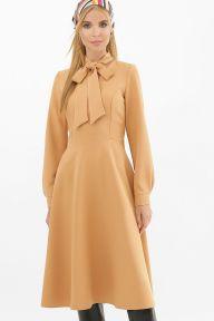 Платье Киа д/р песочный Glem p62677